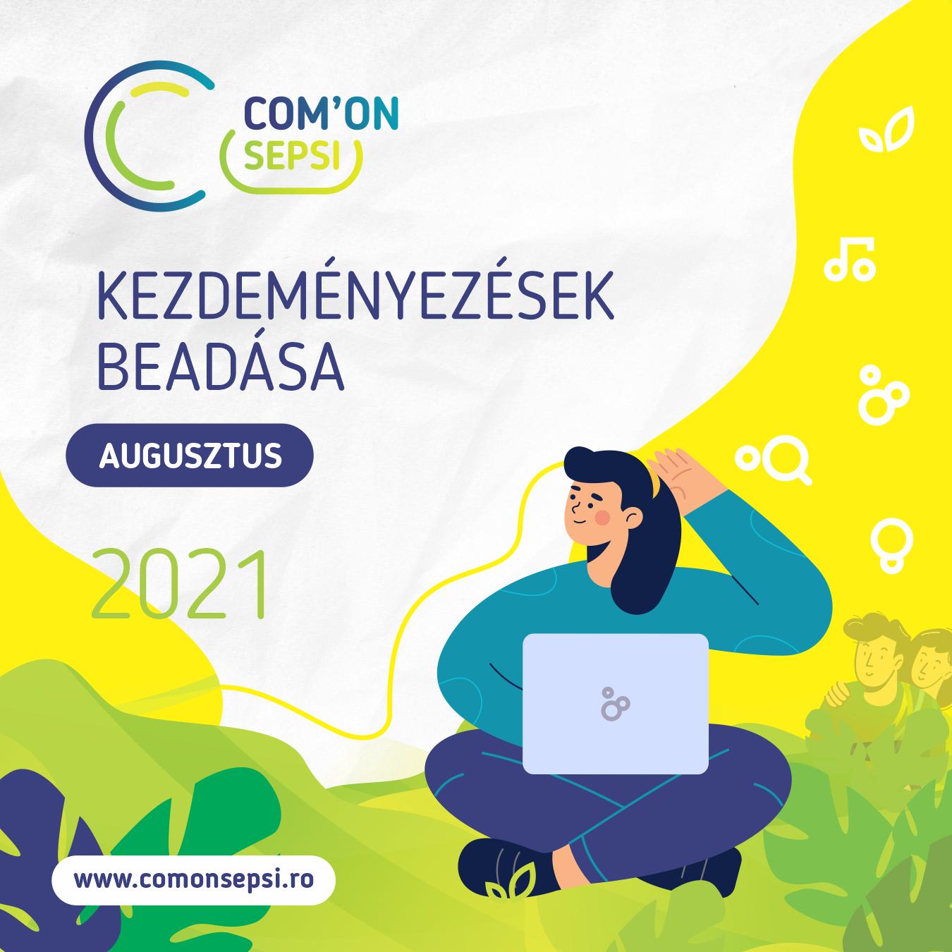 Te vagy a város, tegyél hozzá! - indul a Com'ON Sepsi 2021