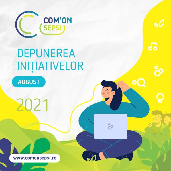 Orașul suntem noi, contribuie și tu! - se lansează Com'ON Sepsi 2021